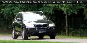 BMW X3 xDrive 20d F25