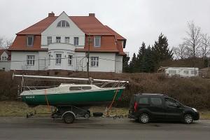 Von Potsdam Golm nach Caputh: Das Boot bleibt im Revier