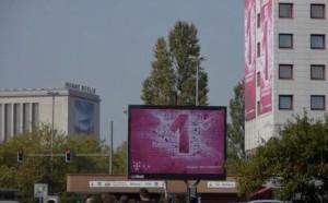 Telekom-Reklame rund um die IFA Berlin
